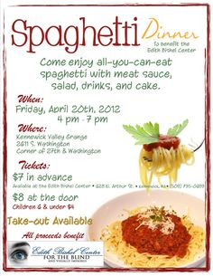 41 best spaghetti dinner fundraiser ideas images fundraising