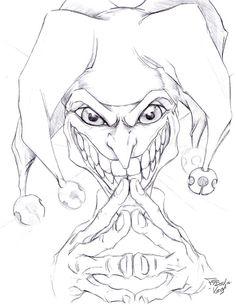 Resultado De Imagen Para Payasos Diabolicos Para Dibujar Dibujos