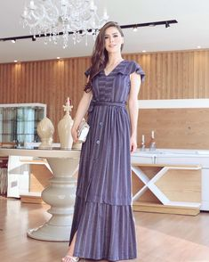 Image may contain: 1 person, standing and indoor Kurta Patterns, Dress Patterns, Diy Dress, Dress Outfits, Hijab Fashion, Fashion Dresses, Indian Designer Suits, Embroidery Dress, Pakistani Dresses