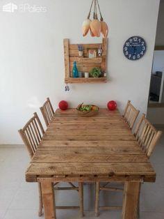 Pallet Table & Shelf • 1001 Pallets