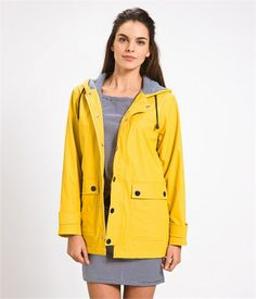 YMC Gloverall Mac Jacket | Coats, Urban outfitters and Yellow raincoat