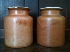 Vintage French Earth Tone Pot sold individually by EnglishShop