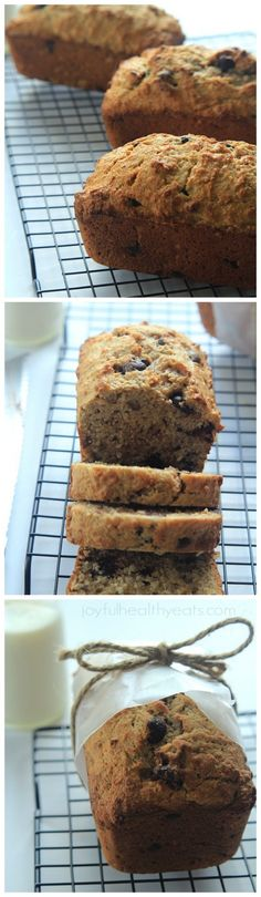 Fully loaded and fully delicious Coconut Pecan Chocolate Chip Banana Bread | www.joyfulhealthyeats.com