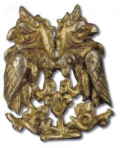 THE TREASURE OF LETNITSA - Thracian treasures - double griffin heads - double eagle