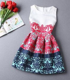 Cheap dress up girls dresses, Buy Quality dress up wedding party directly from China dresses for big girls Suppliers: 20 Patterns Summer Dress female 2015 vintage dress floral print sleeveless Party Dresses for women Vestidos de Festa Robe Dresses Elegant, Pretty Dresses, Beautiful Dresses, Casual Dresses, Short Dresses, Summer Dresses, Maxi Dresses, Cheap Dresses, Formal Dresses