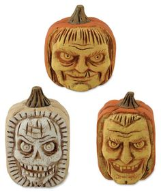 Scary Carved Pumpkins Greg Guedel Halloween