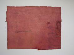 """untitled"" mix media on cotton wool,  size :24''x30'',2009."