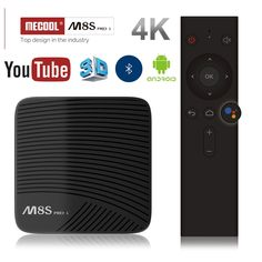 MECOOL M8S PRO L 4K TV BOX Android 7.1 Amlogic S912 3D HD Smart TV BOX 3G RAM Bluetooth Set-Top Box Voice Control Media Player  Price: 86.99 & FREE Shipping  #computergadgets #shopping #electronics #gadgets #home #LED #remotecontrol #security #toys #bargain #drones #coolstuff #headphones #bluetooth #gifts #xmas #happybirthday #fun