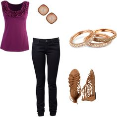Casual but Cute, created by hiral247 on Polyvore