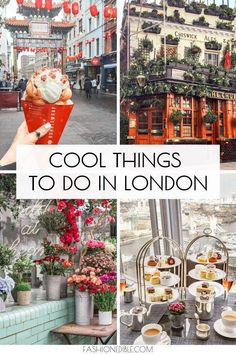 travel Cool Things To Do in London England - Grace J. Silla You'll never run out of things to do in this city but here's our list of cool things to do in London England. We've included fun foodie places to visit! London Travel Guide, Europe Travel Tips, European Travel, London Guide, Budget Travel, Restaurants In Paris, Voyage Bali, Destination Voyage, London Bucket List