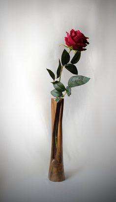 ASAF MAN modern vase,art wood sculpture vase, art wooden sculptures, sculpture wood,wood sculpture, israeli artist, art from israel, modern art, art nouveau, mid century modern art, art moderne, objets d'art decoratif, art design, art home decor, luxury home decor, luxury vase