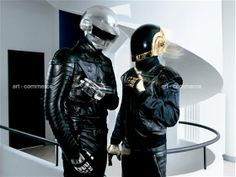 Daft Punk, HAA era photoshoot.