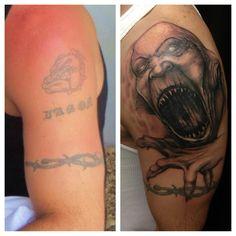 A cover up  https://www.facebook.com/13.tattoo.studio.lindsay/photos_stream