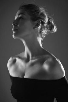 Rosamund Pike by Lorenzo Agius