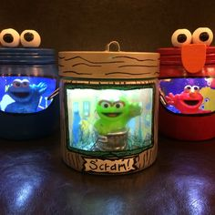 Come and Play, everything's A OK! I am adding Oscar, Elmo, and Cookie today!   Stop by and see my latest night lights! Great gifts for the Sesame Street fans in your life!
