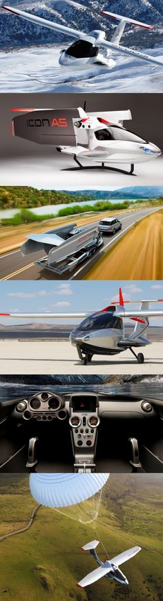 Icon A5 Amphibious Sport Aircraft.