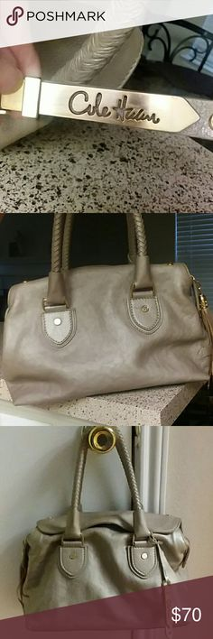 Beautiful gold purse This bag is beautiful,   clean,  in great condition Cole Haan Bags