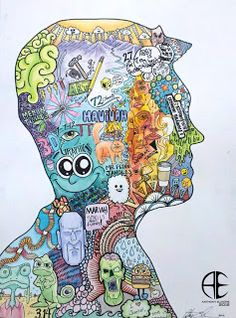 NCHS Art - Elmore: Art Intro - Symbolic Self-Portrait