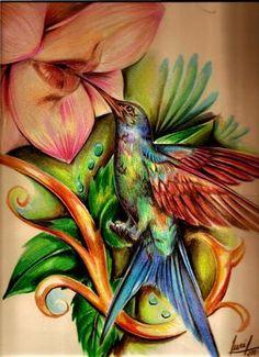 Picaflor Tattoo On Pinterest  Hummingbirds Greek Words