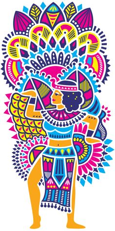 Art And Illustration, Arte Popular, Graphic Art, Graphic Design, Le Polo, Decoupage, Madhubani Art, Traditional Artwork, Doodles Zentangles