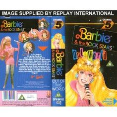 I wish they would put the old barbie VHS on DVD.