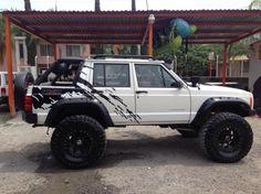 Cherokee XJ Soft Top Conversion