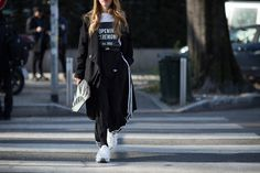 As Milan Fashion Week comes to an end, we present our second and final round of street style from Italy's fashion capital.