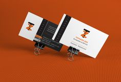 Business Card for Accountant by elevenzebras