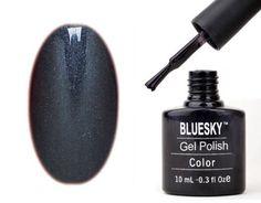 Gel Polish Nails by Bluesky Shiny Asphalt Gel Polish Gel 10ml