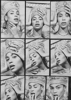 Beyoncé Nefertiti 28th March 2018
