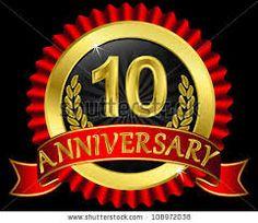 ten years anniversary logos - Google-søgning
