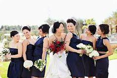 navy bridesmaids - Google Search