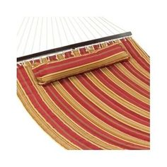 Camping Hammock Outdoor Swing Double Sleeping Bed Patio Pillow Canvas Hang Chair #BestChoice