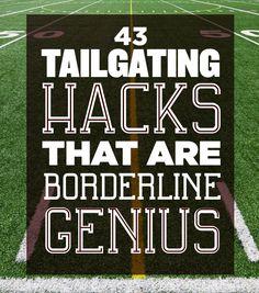 41 Tailgating Hacks That Are Borderline Genius