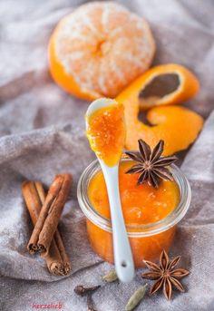 Mandarin jam recipe without preserving sugar - Pumpkin Dessert Chutneys, Amazing Food Photography, Christmas Food Gifts, Pots, Scandinavian Food, Pumpkin Pie Recipes, Holiday Appetizers, Vegetable Drinks, Pickling