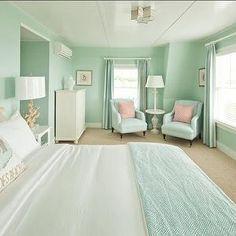 Jonathan Adler - bedrooms - bedroom sitting area, bedroom lounge space, bedroom lounge space, seafoa