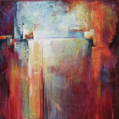 Energized by Karen Hale 48in x 48in $4,600 Acrylic on canvas