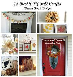 Dream Book Design: 15 Best DIY Fall Projects