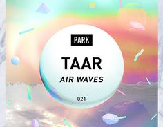 """JACKET DESIGN FOR """"AIR WAVES"""" EP by TAAR"""