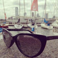 Setting sail #vogueeyewear #stylemiles #fashion #beauty #sunglasses #inspiration