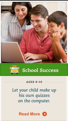 Show your child how to make and use computer-generated quizzes as a study method. Click for details. #SchoolSuccessShow your child how to make and use computer-generated quizzes as a study method. Click for details. #SchoolSuccess