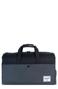 2d5ee429e2e0 Lonsdale Duffle Bag - Dark Shadow Black Herschel Supply Co