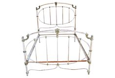 Early-20th-C. Iron Bed, Full on OneKingsLane.com