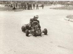 Vintage Go Karts, Karting, Mini Bike, Antique Cars, Vehicles, Diy, Vintage Cars, Bricolage, Cart