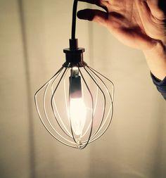 Items similar to Pendant Light - Whisk Light - Industrial Lighting - Vintage Lighting - Pendant Light - Country Home Lighting - Modern Light - on Etsy Industrial Hanging Lights, Rustic Pendant Lighting, Industrial Lighting, Vintage Lighting, Home Lighting, Modern Lighting, Bakery Decor, Kitchen Pendants, Farmhouse Lighting