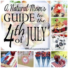 great fourth of july food ideas with naturally red, white and blue foods plus fun printables