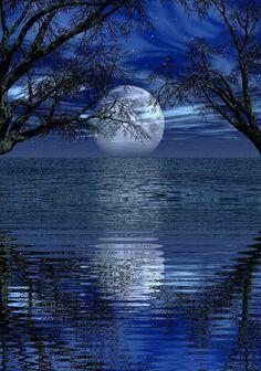 New Photography Night People Full Moon Ideas Beautiful Moon, Beautiful World, Shoot The Moon, Moon Pictures, Moon Art, Blue Moon, Stars And Moon, Night Skies, Moonlight