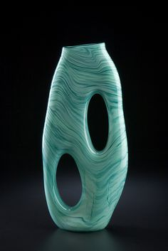 Jade Terra Ceia by Bernard Katz #artglass #sculpture