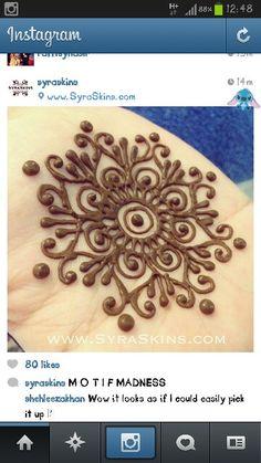 Source: SyraSkins Mehndi Designs For Beginners, Mehndi Designs For Fingers, Mehndi Art Designs, Latest Mehndi Designs, Henna Ink, Henna Tattoo Hand, Henna Body Art, Henna Tattoo Designs Simple, Beautiful Henna Designs