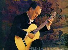Celedonio Romero, Guitar Music From the Courts of Europe LP